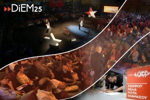 Gründung der griechischen DiEM25-Partei