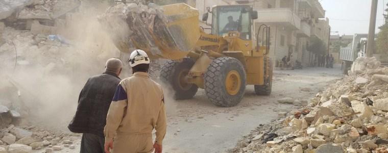 Syrien: Pläne zur Evakuierung der Weißhelme