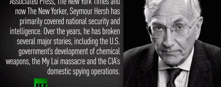 Chris Hedges Interviews Legendary Journalist Seymour Hersh on RT (Video)