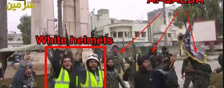 De Witte Helmen als vluchteling naar Europa met hulp van de NAVO en Israël – FREESURIYAH