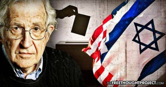 Noam Chomsky: Russia Isn't Influencing US Elections—but Israel Definitely Is