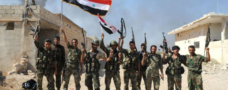 With Russian help, Damascus gains territory in the fight against terror