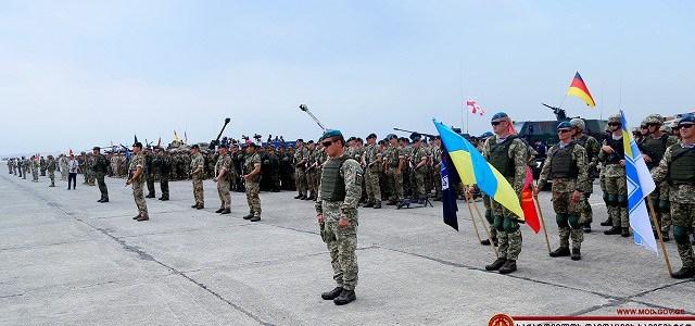 Georgië houdt militaire oefening rond tiende verjaardag oorlog