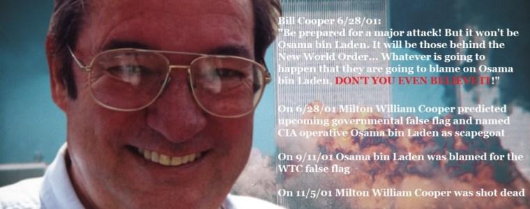 Bill Cooper voorspelde 911 en werd vermoord..