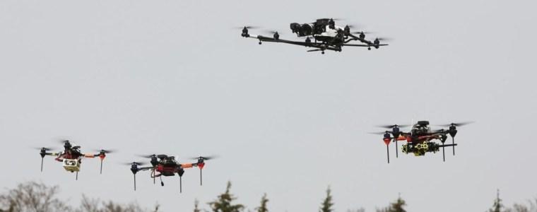 Drohnenschwärme und Big Data: Bundespolizei will von neuen Forschungen profitieren