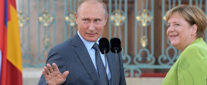 Checkmate Putin: Nord Stream 2 will happen, Merkel needs the pipeline to stay in power (Video)