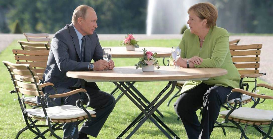 With Merkel Under Attack by Trump Is Putin Suddenly a Good Guy in Berlin?