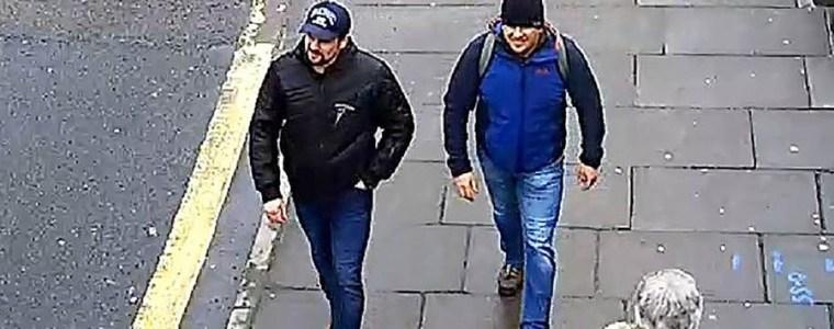 Putin's Novichok assassins identified. Pictured smiling, walking UK streets (Video)