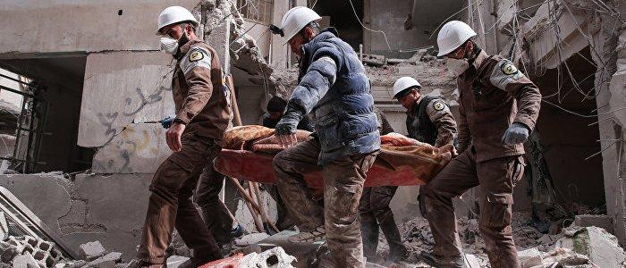 Aktivist: Weißhelme bringen Gasbehälter nach Idlib – Angst vor Giftgas-Fake wächst