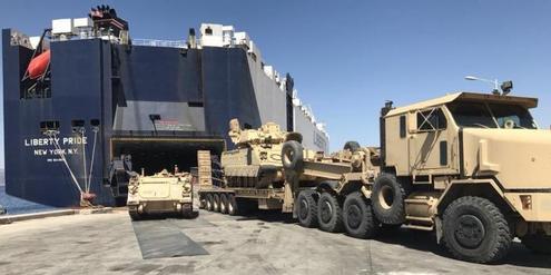 US-Waffen-Umschlagplatz Camp Darby in Italien wird schneller
