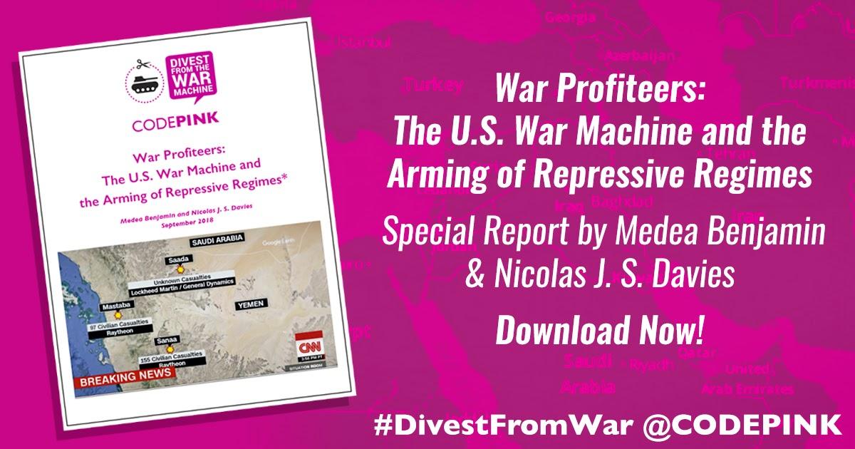 WAR PROFITEERS: THE U.S. WAR MACHINE