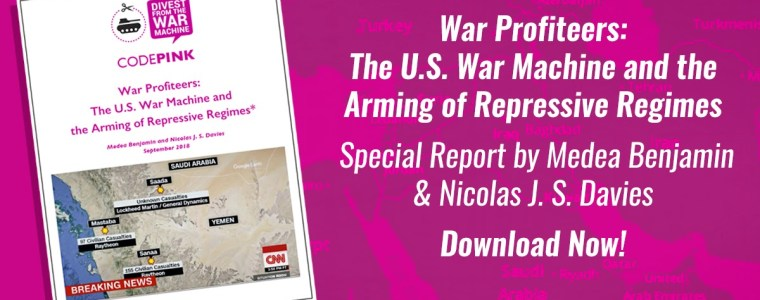 WAR PROFITEERS: THE U.S. WAR MACHINE