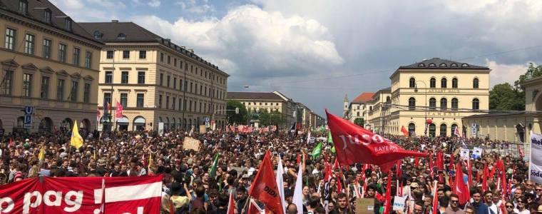 Wieder breiter Protest gegen Polizeigesetz in Bayern geplant
