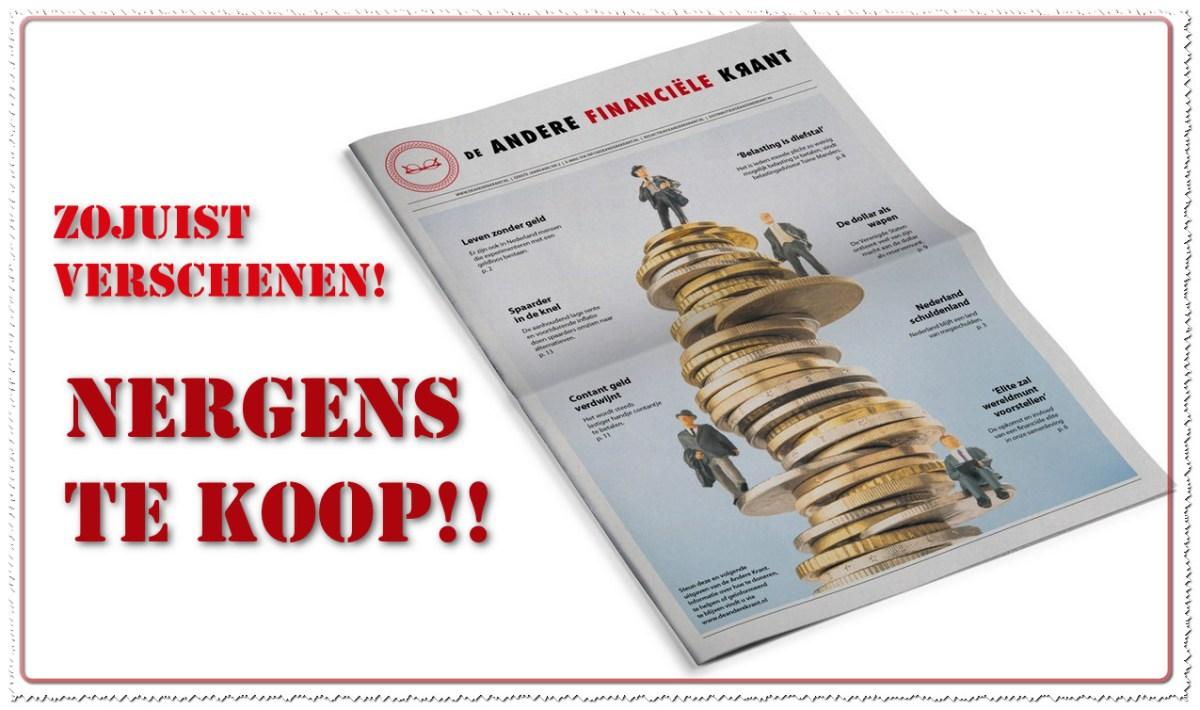 De NIEUWE 'Andere Krant'; 15 vragen aan Sander..!