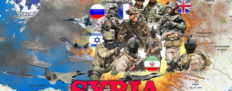 Syrië eist onmiddellijke terugtrekking van Amerikaanse, Engelse, Franse, Israëlische en Turkse troepen van Syrisch grondgebied – FREESURIYAH