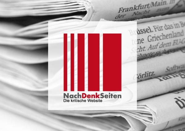 Wenn Sie wissen wollen, warum die SPD auch noch bei 5 % ankommen kann, lesen Sie diesen Artikel zu den NATO-Manövern – www.NachDenkSeiten.de