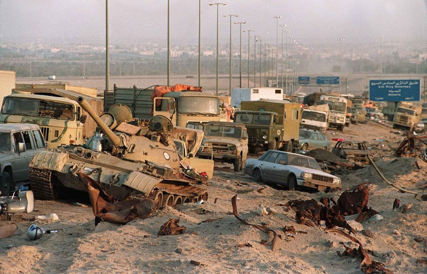 george-hw-bushs-complicity-in-the-1991-highway-of-death-massacre.-8211-global-research