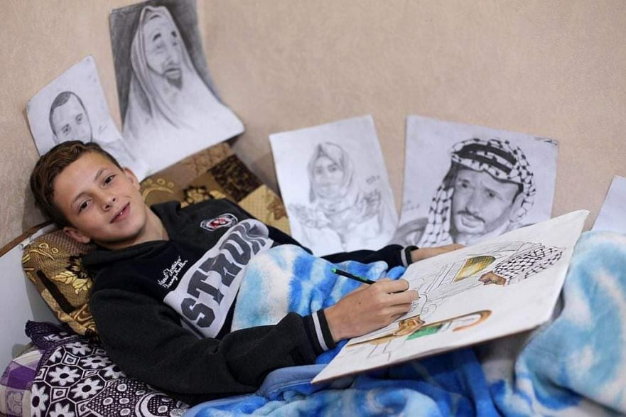 13-year-old-gaza-artist-shot-by-israeli-soldiers-while-calling-for-our-basic-right-to-live-a-decent-life-8211-global-research