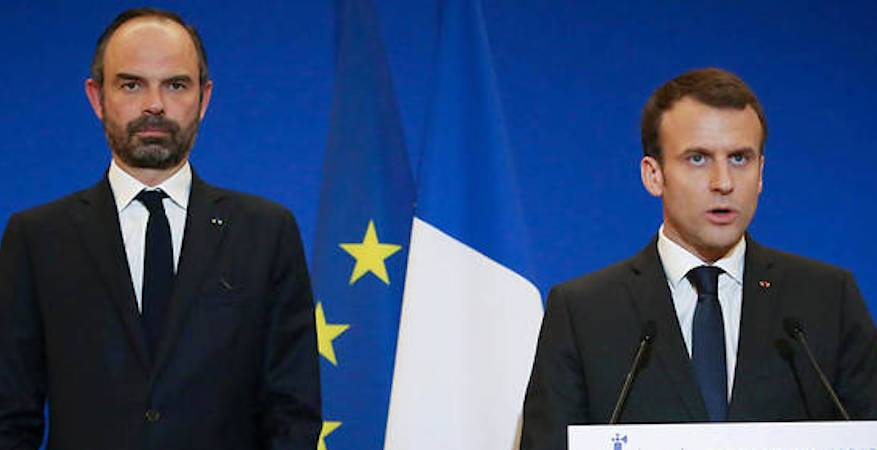 frances-macron-and-philippe-order-crack-down-on-yellow-vests-video