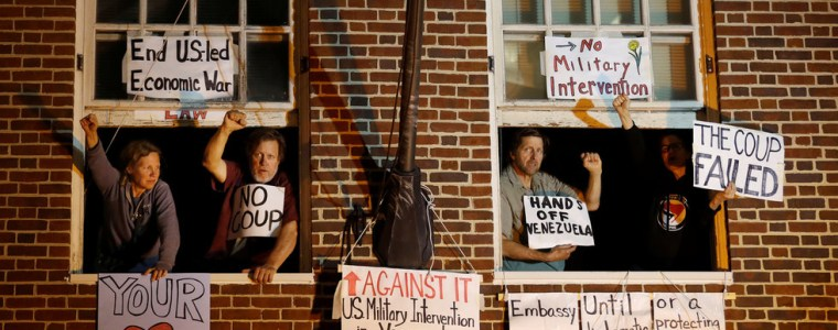 anti-coup-activists-charged-with-'interfering'-in-us-raid-on-venezuelan-embassy