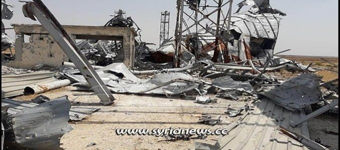 destruction-of-the-pillars-of-the-syrian-economy:-terrorists-destroy-grain-silos,-farmer-tractors-in-tal-al-sakhr,-north-west-of-hama-–-global-research
