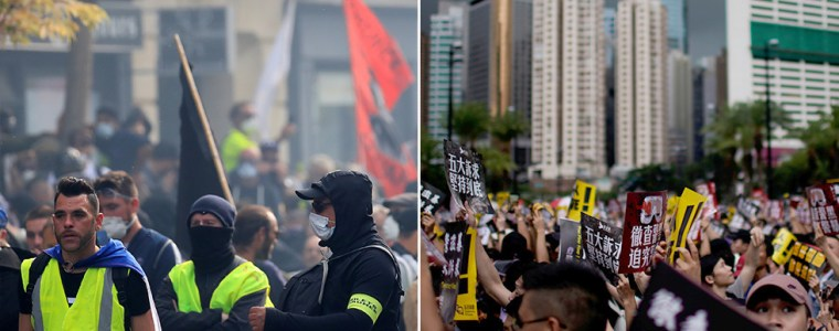west's-news-dominated-by-hong-kong-while-yellow-vests-largely-ignored-–-pilger