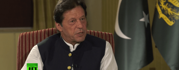 'no-rational-human-being-can-talk-of-a-nuclear-war'-–-imran-khan-to-rt