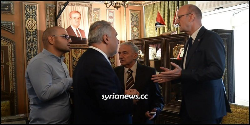 german-parliament-delegation-in-damascus,-don't-bet-much-on-it!