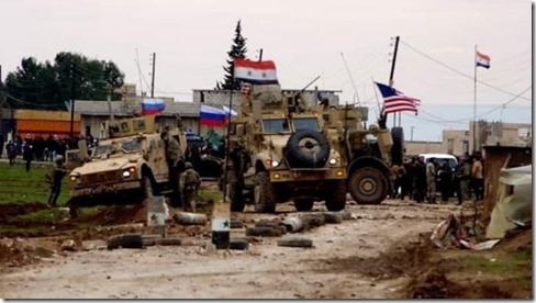 syrie–vlaggenvertoon