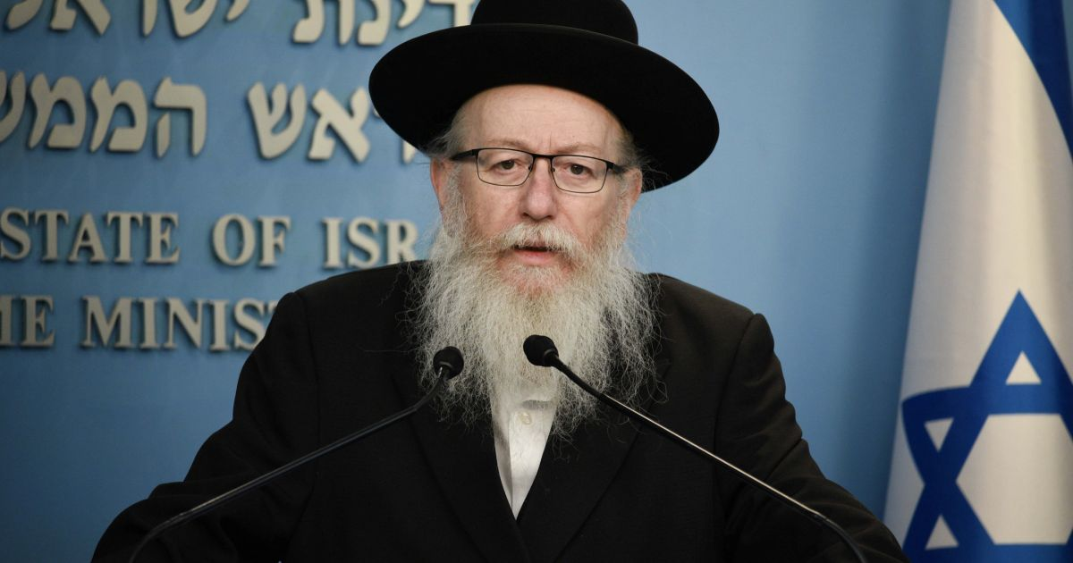 israeli-health-minister's-cure-for-covid-19?-the-messiah