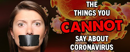 the-things-you-cannot-say-about-coronavirus-—-steemit