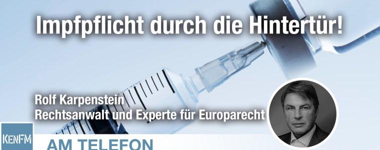 am-telefon-zur-impfpflicht-durch-die-hintertur:-rolf-karpenstein-|-kenfm.de