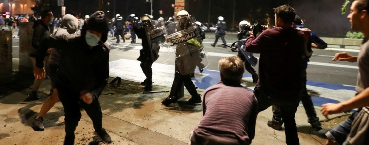 belgrade-protests-not-about-covid-19-lockdown,-hijacked-by-rightwing-radicals-–-serbia's-president
