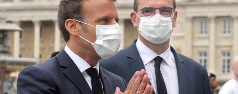 french-president-macron-makes-masks-obligatory-in-public-starting-august-1