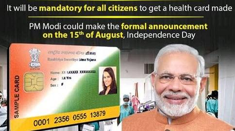 indian-government-to-launch-mandatory-digital-health-card-on-bill-gates-concept