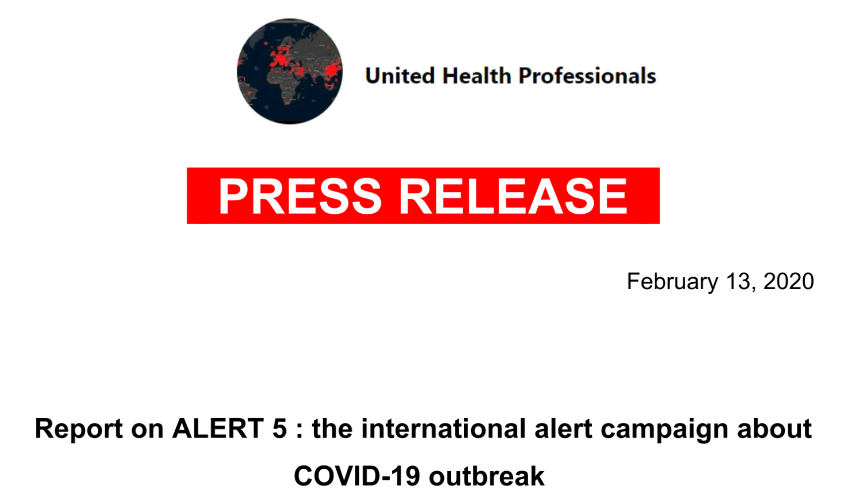 international-alert-message-about-covid-19.-united-health-professionals-–-global-research