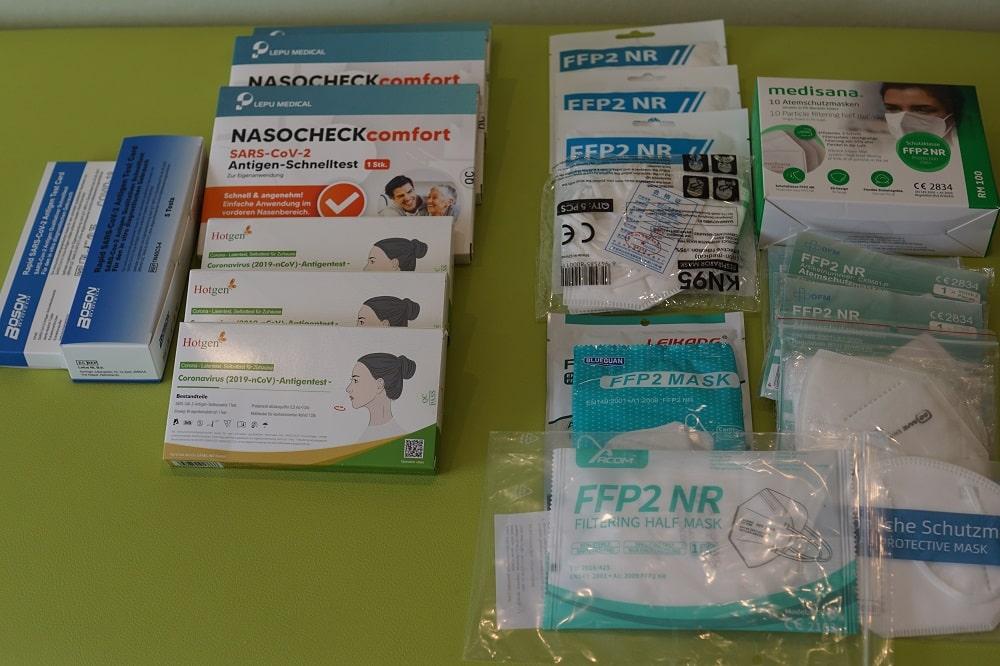 """gepruft:-""""wurmer""""-/-morgellons-/-nanobots-auf-masken-und-teststabchen"""