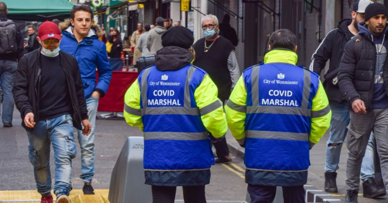 uk-councils-bring-back-'covid-marshals'-to-report-people-for-not-social-distancing