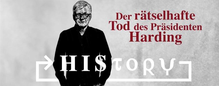 history:-der-ratselhafte-tod-des-prasidenten-harding-(podcast)-|-kenfm.de