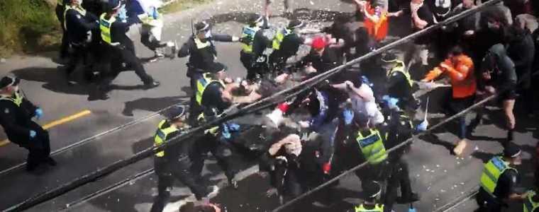 australiers-hebben-genoeg-van-de-lockdown:-demonstranten-in-melbourne-overmeesteren-politie