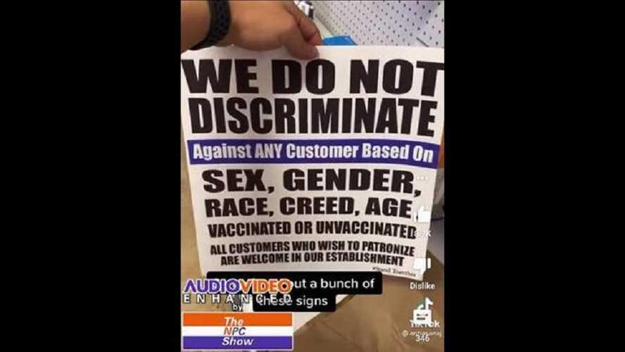 """bedrijven-in-new-york-hangen-posters-op-met-""""we-discrimineren-niet""""-–-ongevaccineerden-en-gevaccineerden"""