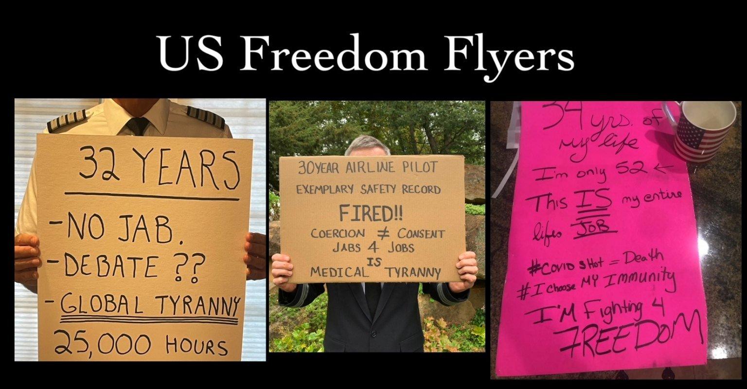 freedom-flyers:-luchtvaartindustrie-werknemers-ontslagen-voor-het-weigeren-van-covid-19-shot-vechten-terug