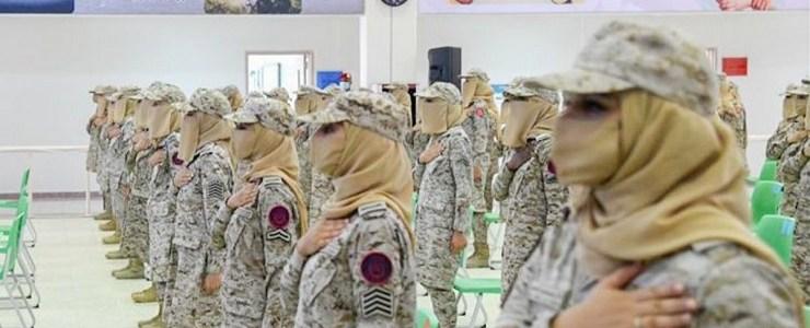vrouwen-in-het-saoedische-leger