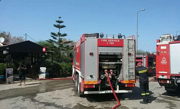 Fire at Kalami dealt swiftly by local fire crews