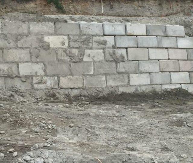 Lock Block Wall
