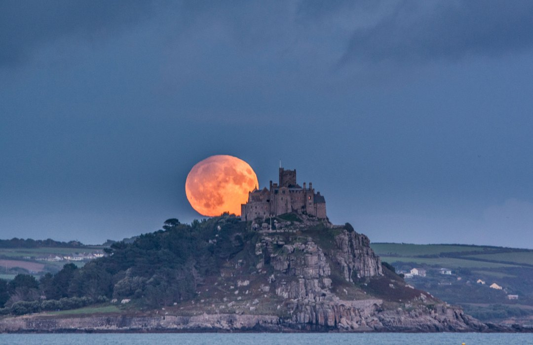 Lunar Eclipse Cornwall