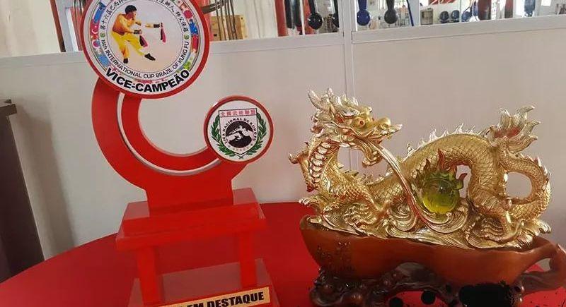 20 medalhas conquistadas na 16 Copa Internacional de Kung Fu