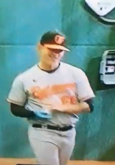 THE ORIOLES CHEATED AND SHOULD VACATE LAST NIGHTS WIN