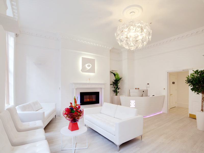 PHI Laser Clinic Harley Street London Apollo Interiors