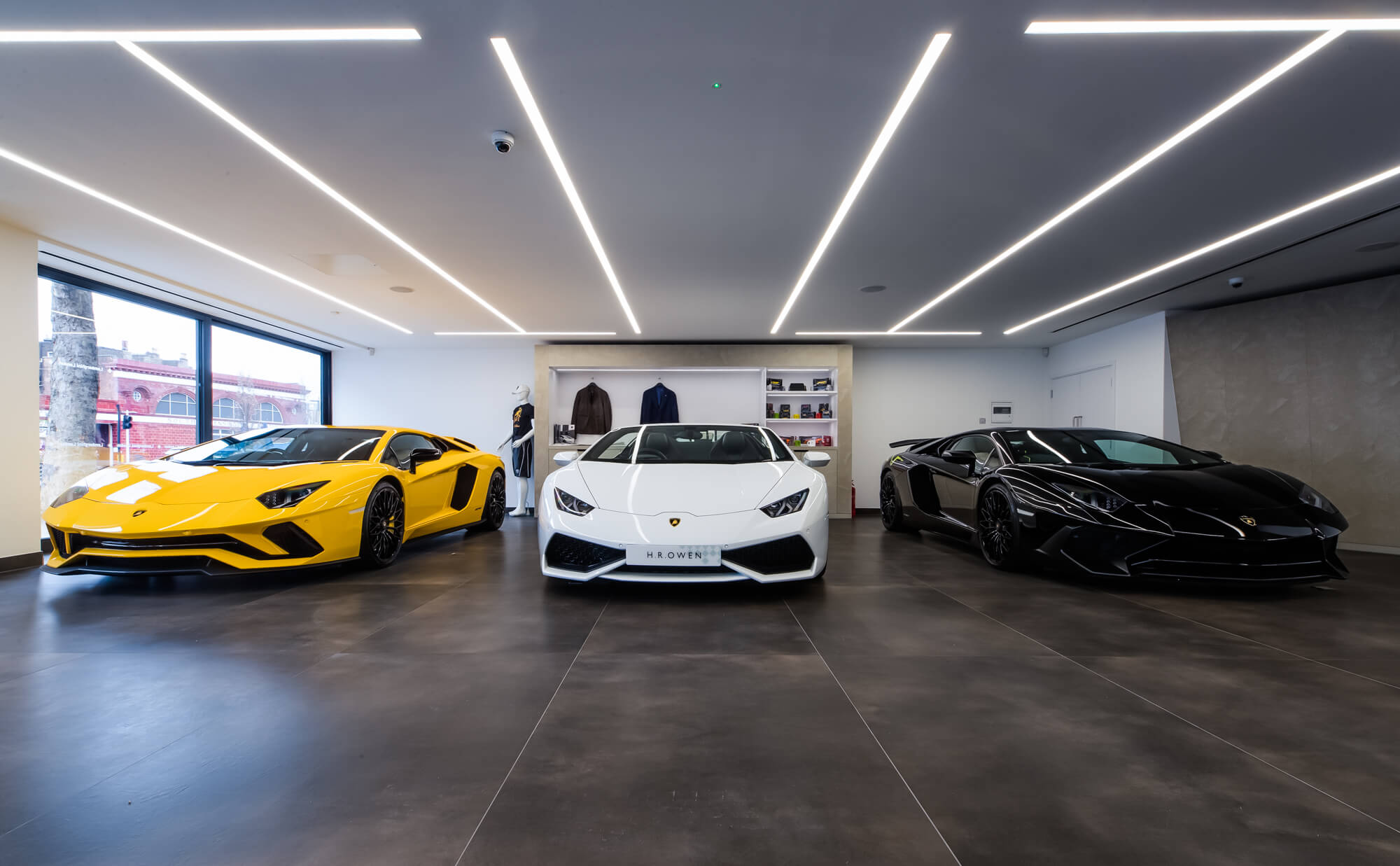 Lamborghini Showroom South Kensington Apollo Interiors